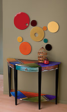 Delicieux All The Colors At Once By Wendy Grossman (Wood Console Table)