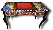 Sublime Writing Table by Wendy Grossman (Wood Desk)