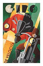 GIRO De Velocita by M. Kungl (Giclee Print)