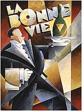 La Bonne Vie by M. Kungl (Giclee Print)