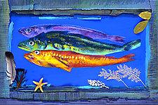 Three Fish by Jane Sterrett (Giclee Print)