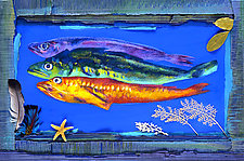 Three Fish by Jane Sterrett (Giclee Print)