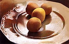 Plate of Apricots by Jane Sterrett (Giclee Print)