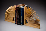 Abanico Bookend by Seth Rolland (Wood Bookend)