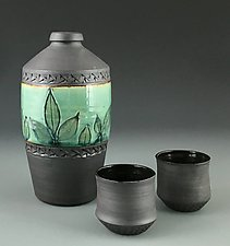 Sake Set by Suzanne Crane (Ceramic Serving Set)