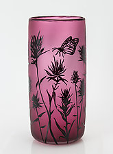 Botanical Vases by Ralph Mossman and Mary Mullaney (Art Glass Vase)