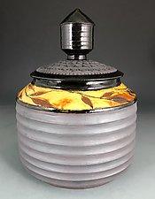 Silo Jar by Suzanne Crane (Ceramic Jar)