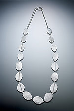Petal Necklace by Ken Loeber and Dona Look (Silver Necklace)