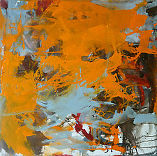 Orange by Robin Feld (Oil Painting)