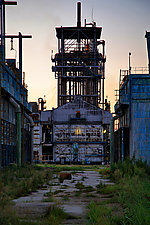 Danube Refinery 2010 Romania by Eric Bladholm (Color Photograph)