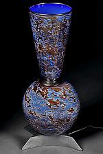 Lapis Lazuli by Eric Bladholm (Art Glass Table Lamp)