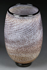 Strata Swirl by Eric Bladholm (Art Glass Vessel)