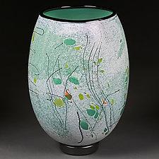 Spring Sonata by Eric Bladholm (Art Glass Vessel)