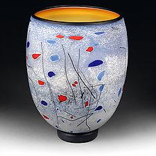 Zyma Svitlo (Winter Light) by Eric Bladholm (Art Glass Vessel)