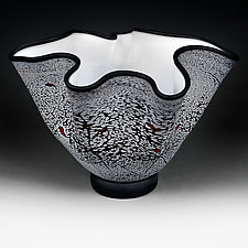 Zimska Jabuka (Winter Apples) Prototype Bowl by Eric Bladholm (Art Glass Vessel)