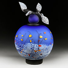 Vechirniy Svitlo (Evening Lights) by Eric Bladholm (Art Glass Vessel)