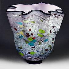 Summer Sketch (Studio Sample) by Eric Bladholm (Art Glass Vase)