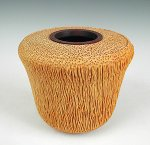 Palm Hollow Form 1595 by Dewey Garrett (Wood Vessel)