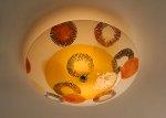 Burst: Ceiling by Joan Bazaz (Glass Ceiling Light)