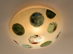Olives: Ceiling by Joan Bazaz (Glass Ceiling Light)