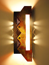 Zig Zag Sconce by Dale Jenssen (Metal Sconce)