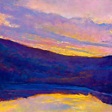 Lake Shadows by Ken Elliott (Giclee Print)