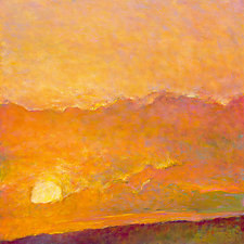 Sunset Impression by Ken Elliott (Giclee Print)