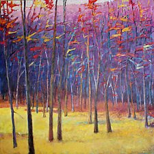 At the Meadow's Edge by Ken Elliott (Giclee Print & Oil Painting)