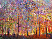 Chromatic Forest by Ken Elliott (Giclee Print)