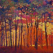 Through the Orange Forest by Ken Elliott (Giclee Print)