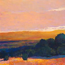 View to the Foothills, High Contrasts by Ken Elliott (Giclee Print)