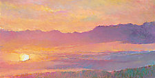 Sunset Over the Hilltop by Ken Elliott (Giclee Print)