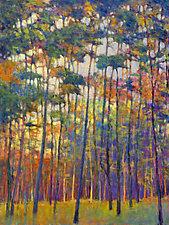 Glittering Forest by Ken Elliott (Giclee Print)