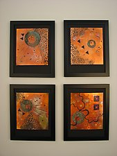 Inner Space Series by Dale Jenssen (Metal Wall Sculpture)