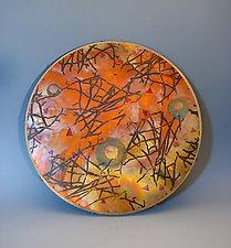 Copper Top Lazy Susan by Dale Jenssen (Metal Serving Piece)