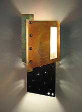 Lautner Sconce by Dale Jenssen (Metal Wall Sconce)