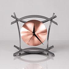 BAC Clock by Ken Girardini and Julie Girardini (Metal Clock)