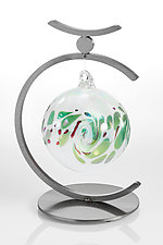 Single Ornament Display by Ken Girardini and Julie Girardini (Steel Ornament Display)