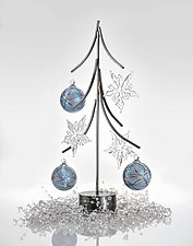 Tree Ornament Display by Ken Girardini and Julie Girardini (Metal Ornament Stand)