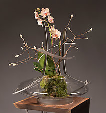 Terrain Vase by Ken Girardini and Julie Girardini (Metal Vase)