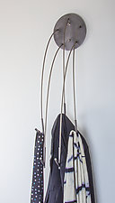 Cascade Coat Hooks by Ken Girardini and Julie Girardini (Metal Coat Hooks)