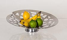 Fruit Bowl by Ken Girardini and Julie Girardini (Metal Bowl)