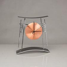 Mission Clock by Ken Girardini and Julie Girardini (Metal Clock)