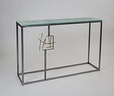 Melbourne Console by Ken Girardini and Julie Girardini (Metal Console Table)