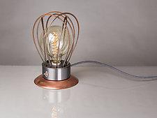 WaTTson Table Lamp by Ken Girardini and Julie Girardini (Metal Table Lamp)