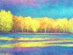 Yellow Reflections by Ken Elliott (Giclee Print)