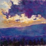 Blue Sunset by Ken Elliott (Giclee Print)