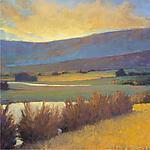 View Across the River by Ken Elliott (Giclee Print)