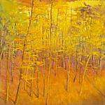 Up to the Yellows by Ken Elliott (Giclee Print)