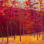 Autumn Reds by Ken Elliott (Giclee Print)